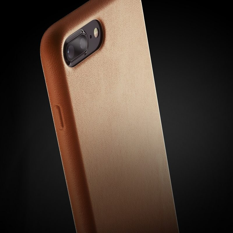 Full leather case for iPhone 8 Plus - Tan - 07